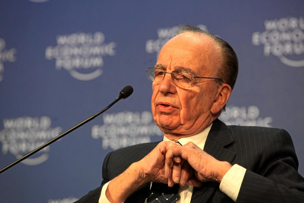 Rupert Murdoch at the 2009 World Economic Forum