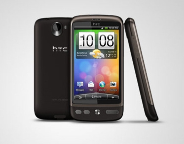 The HTC Desire Handset