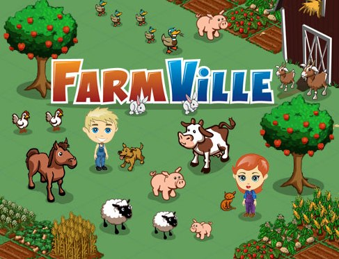 FarmVille - One of the most popular games on Facebook