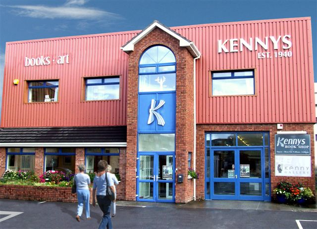 Kenny's bookstore in Galway