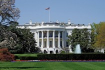 The White House. Photograph by UpstateNYer via Wikipedia