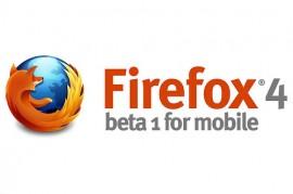 Firefox 4 beta for mobile