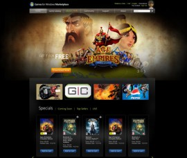 Games for Windows Marketplace screenshot