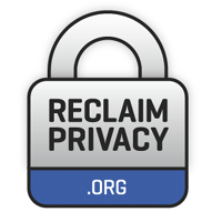 Reclaim Privacy's logo