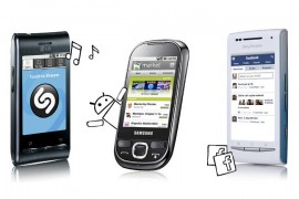 Selection of Android handsets from Meteor, all available for €119.99 online