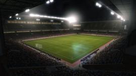 Impressive stadium view from PES 2011