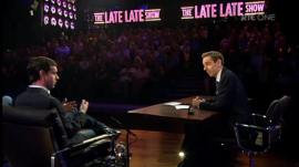 Twtter's Jack Dorsey on The Late Late Show