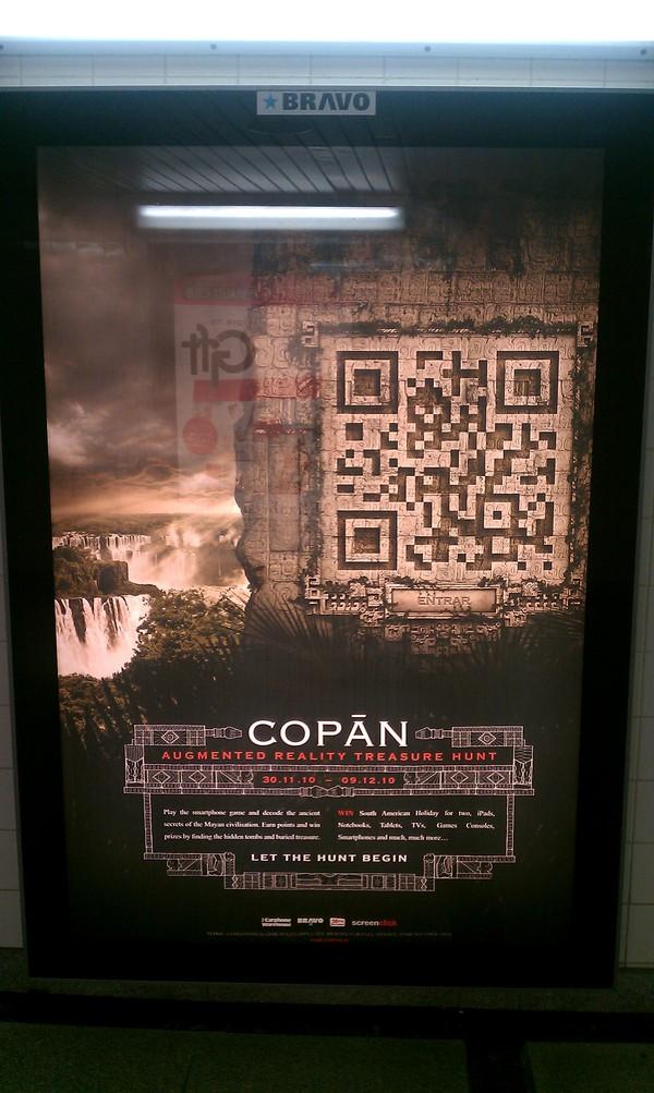 Copán poster via @dublinbikes2go
