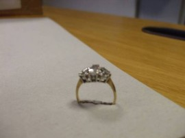 Diamond Ring lost near Rathmines Garda Station