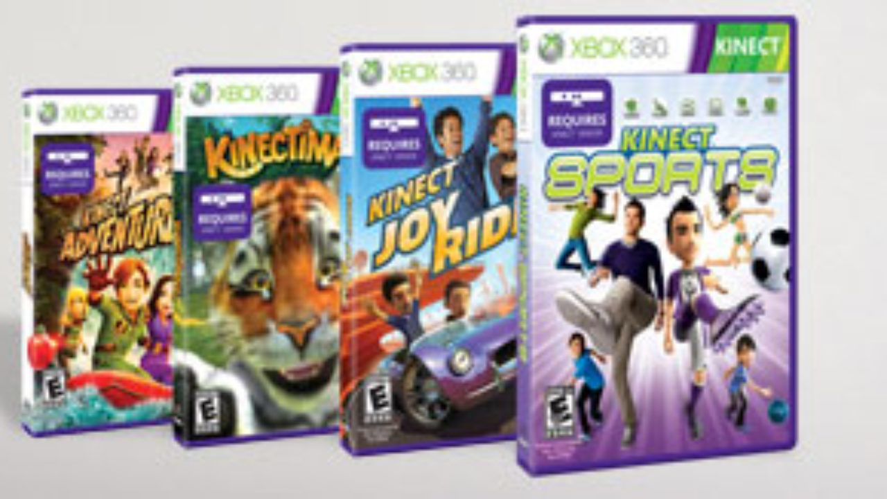 Microsoft Kinect launch titles