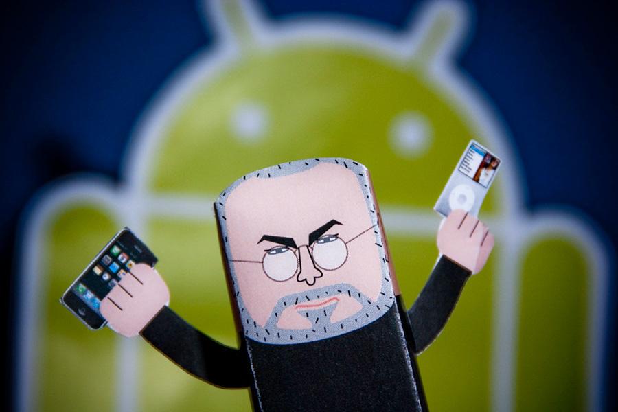 Angry Steve Jobs