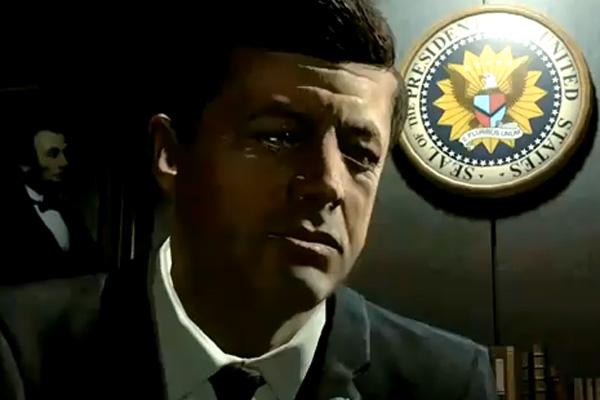 John F. Kennedy in new Call of Duty: Black Ops trailer