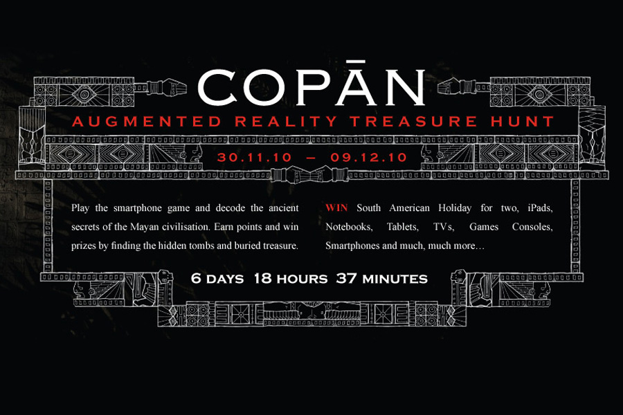 Copān – augmented reality treasure hunt