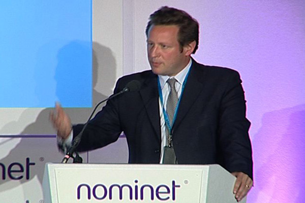 Ed Vaizey, Minister for Communication, Culture and the Creative Industries in Britain