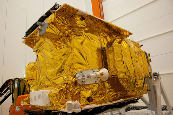 HYLAS 1 broadband satellite