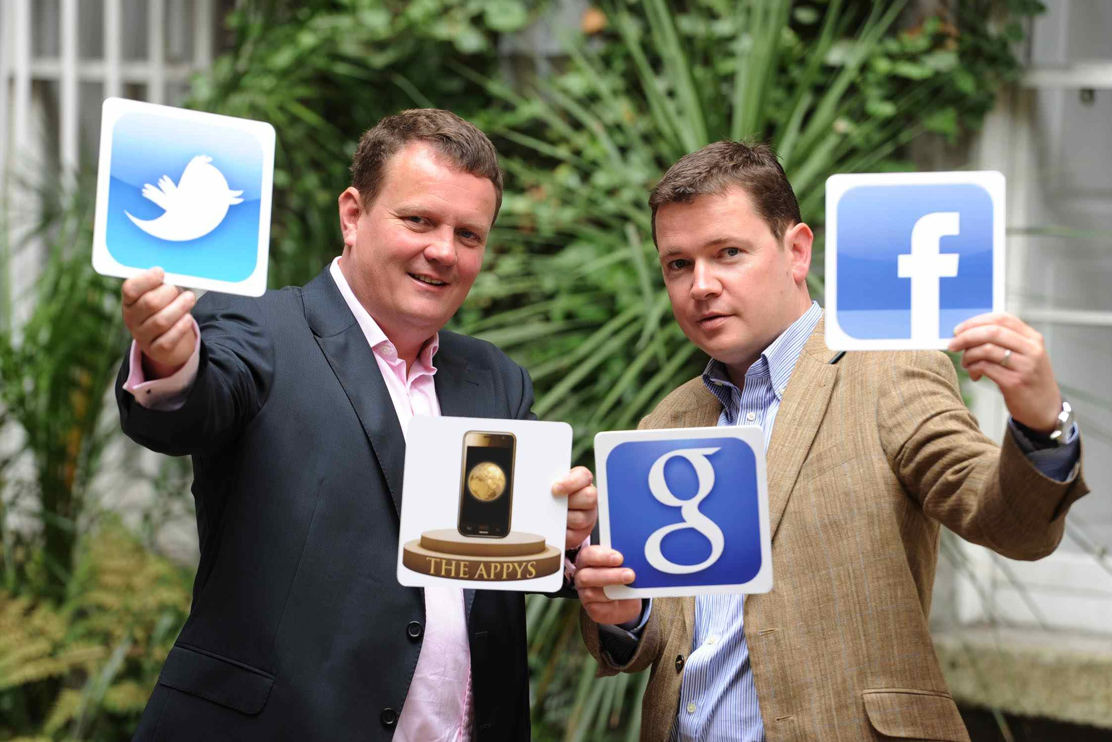 Stephen Mackarel, CEO of the Carphone Warehouse, and Stephen Conmy, Editor of Digital Times
