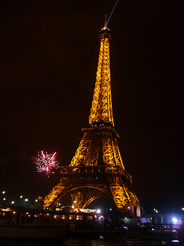 New Year's in Paris at the Eiffel Tower via vizzzual.com on Flickr