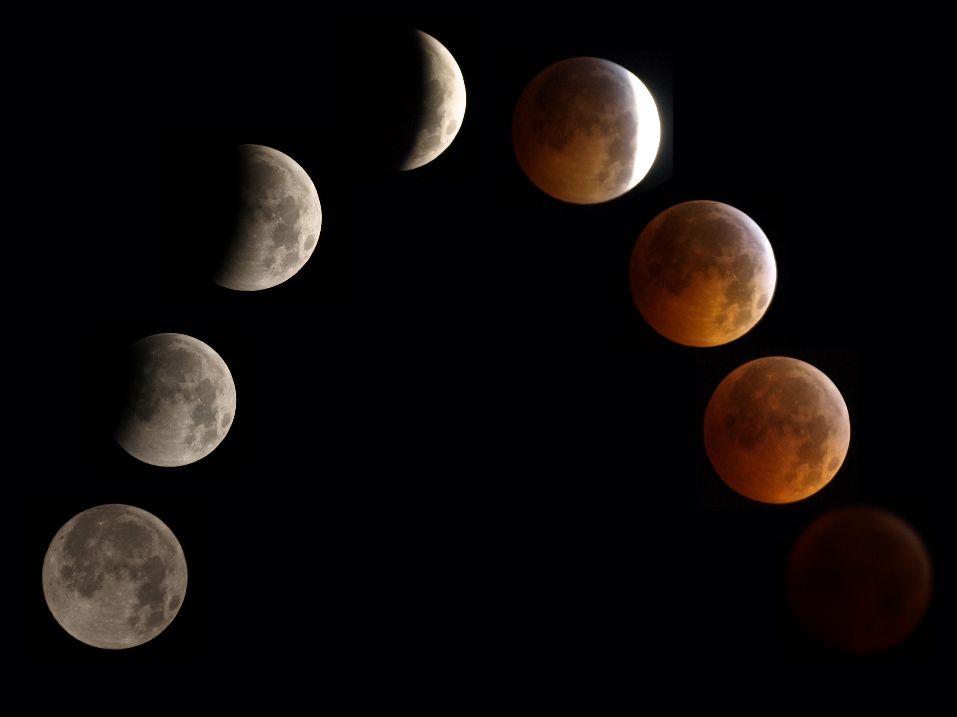Lunar Eclipse via Wikipedia