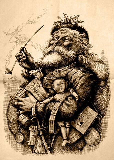 Image of Santa Claus via Wikipedia