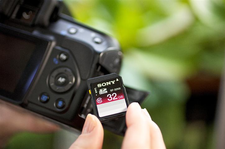 Sony SDHC camera card