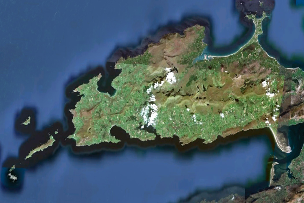 Updated Dingle Peninsula in Google Earth