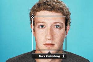 Mark Zuckerberg face tagged