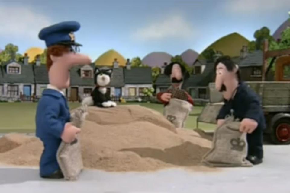 Postman Patrick sand