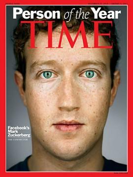 Time Magazine Cover, Mark Zukerberg
