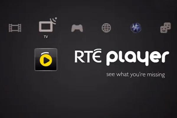 RTÉ Player PS3 thumbnail