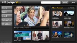 RTÉ Player PS3 screenshot