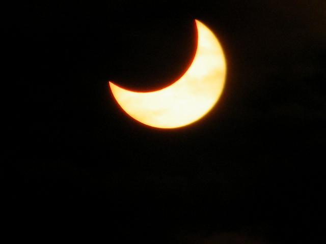 Solar eclipse via David Paleino on Flickr