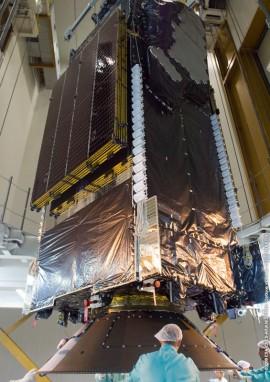 Terrestar-1 satellite (Image via & © Ariane Space Services)