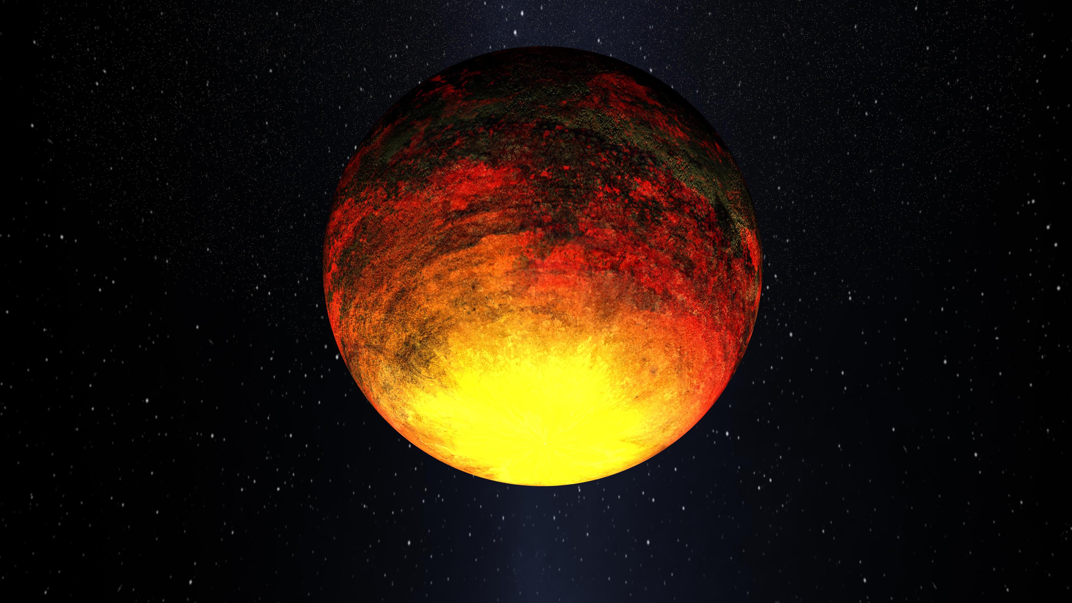 Artist's Depiction of Kepler-10b
