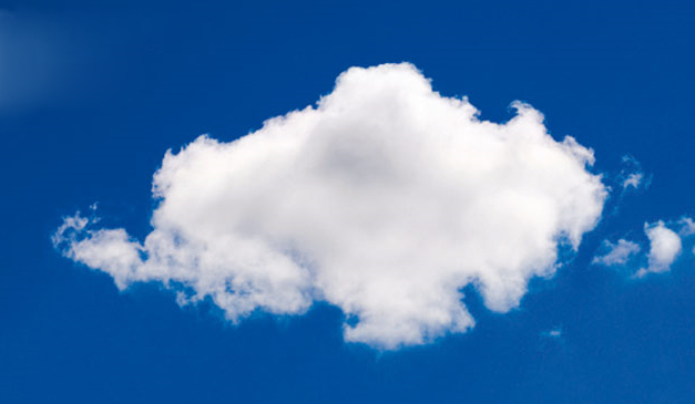 Image of a cloud via Microsoft