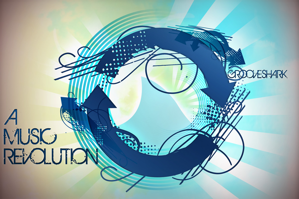 Grooveshark - the music revolution