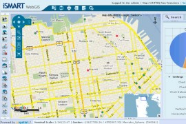 iSMART webGIS screenshot