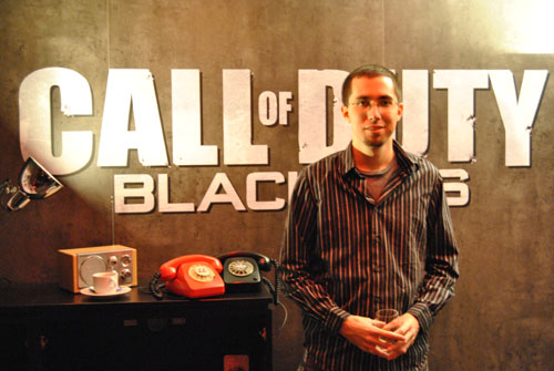 Josh Olin, community manager at Treyarch