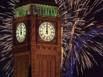 London on New Year's Day (via davesworldtravel.com)