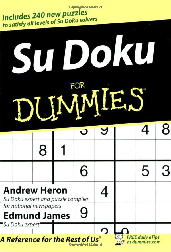 Su Doku for Dummies (Sudoku)