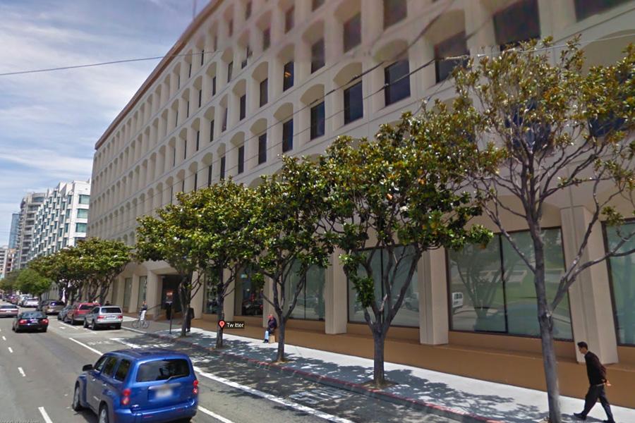 Twitter HQ in San Francisco