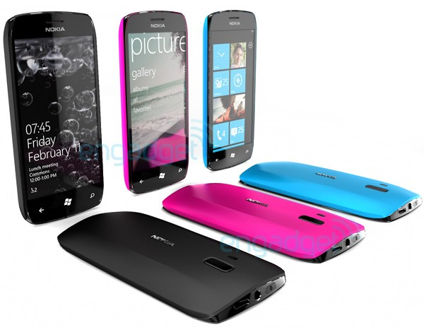 Nokia/Windows concept phones via Engadget