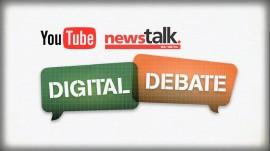 NewsTalk YouTube Digital Debates Logo