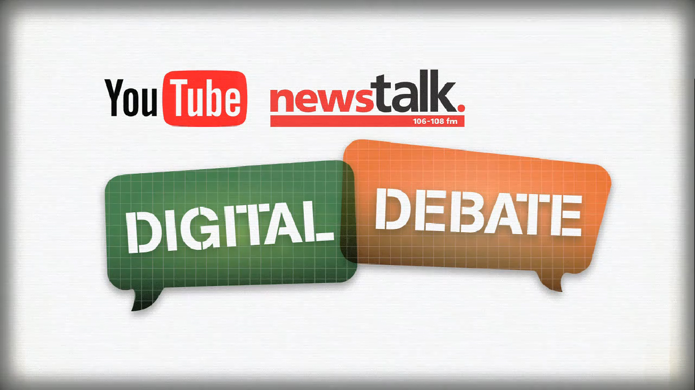NewsTalk YouTube Digital Debates Logo