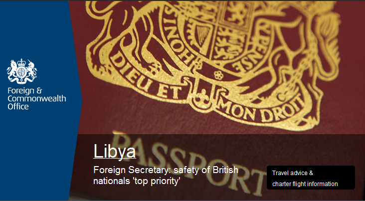 UK Foreign and Commonwealth Office home page