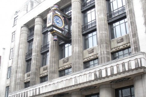 The Daily Telegraph building on London's Fleet Street