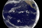 NASA Goddard satellite image of Pacific as tsunami passes
