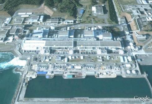 Fukushima nuclear plant 2004