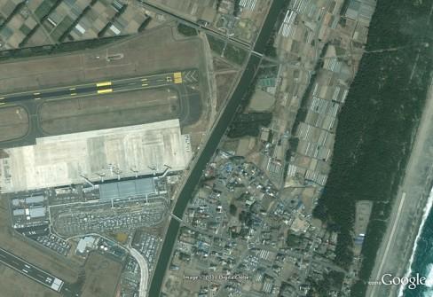 Sendai airport 2003