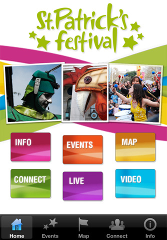 St Patrick's Festival app 2011