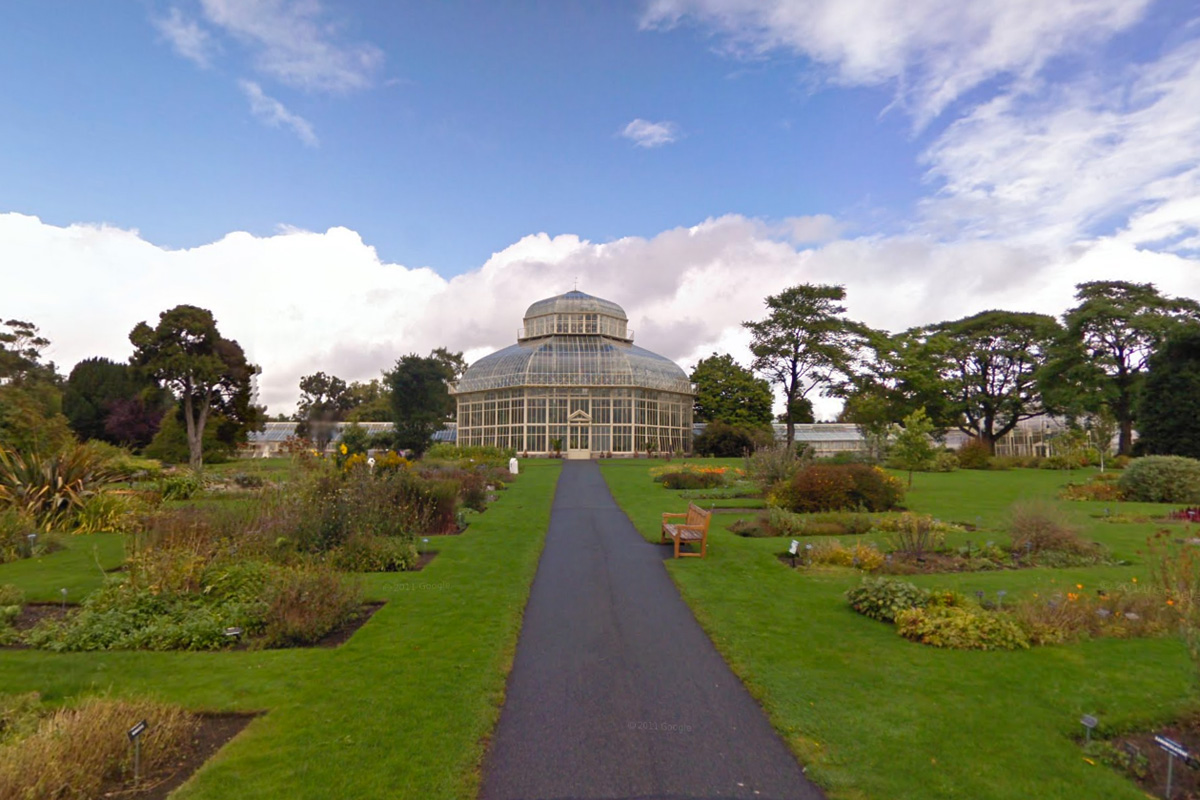 explore the national botanic gardens in dublin with google street view the sociable